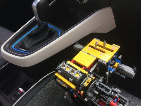 Hybrid系統竟能用LEGO積木打造?Renault成功做到了!