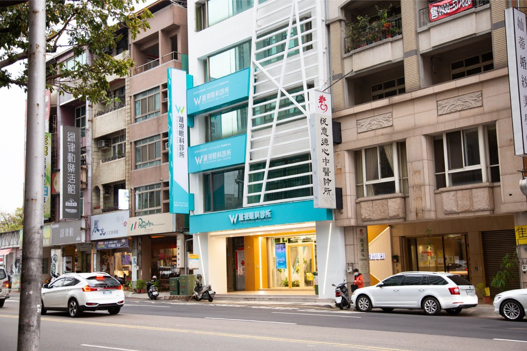 濰視台中位於台灣大道與東興路口,交通方便。 濰視眼科/提供。