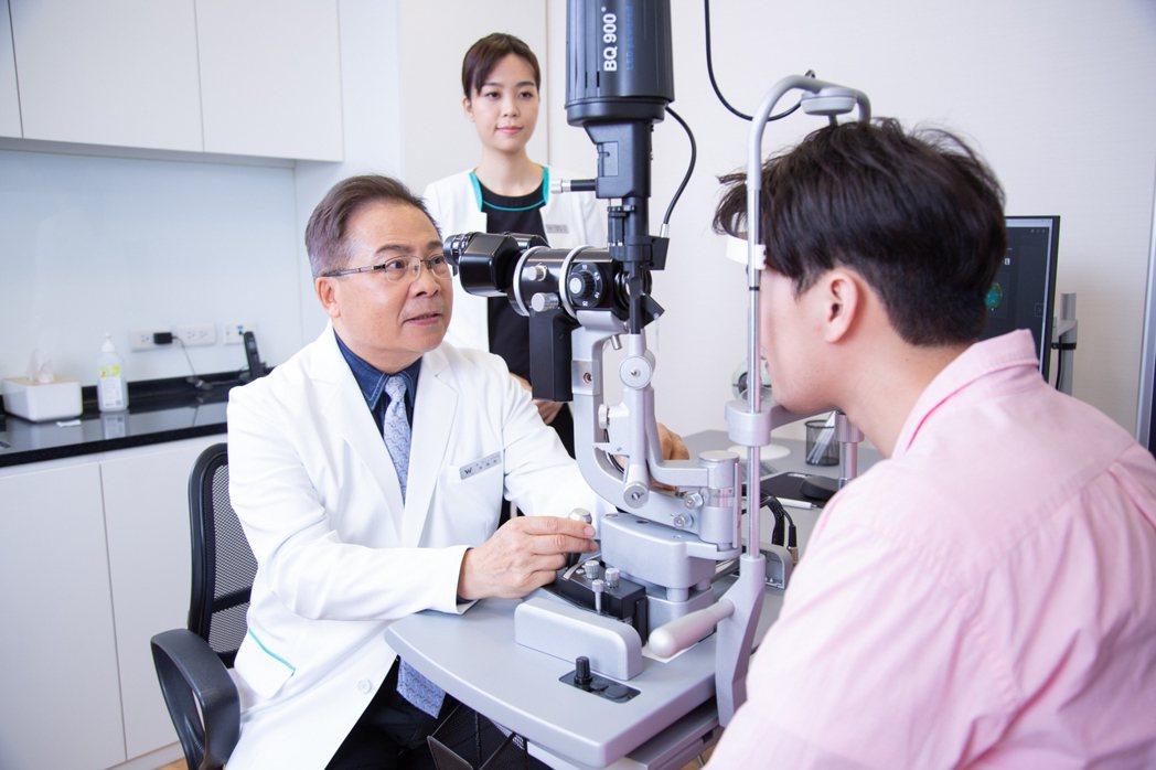 濰視眼科提供16項儀器 56項數據全眼檢測。 濰視眼科/提供。