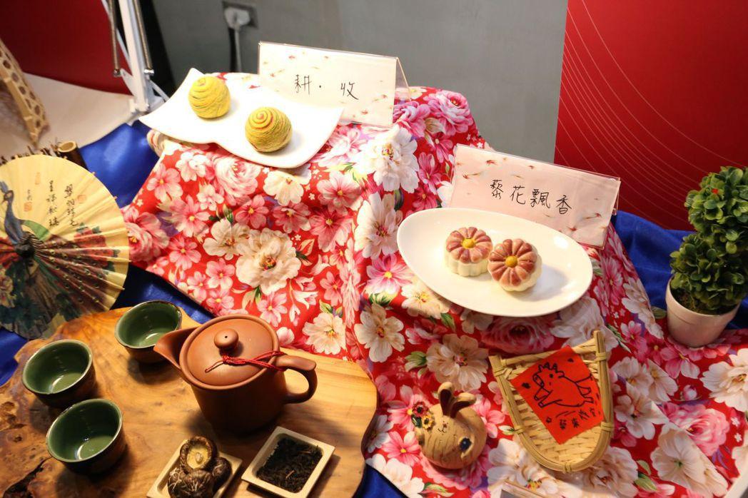 花蓮在地食材-紅藜創意入漢餅。 楊鎮州/攝影