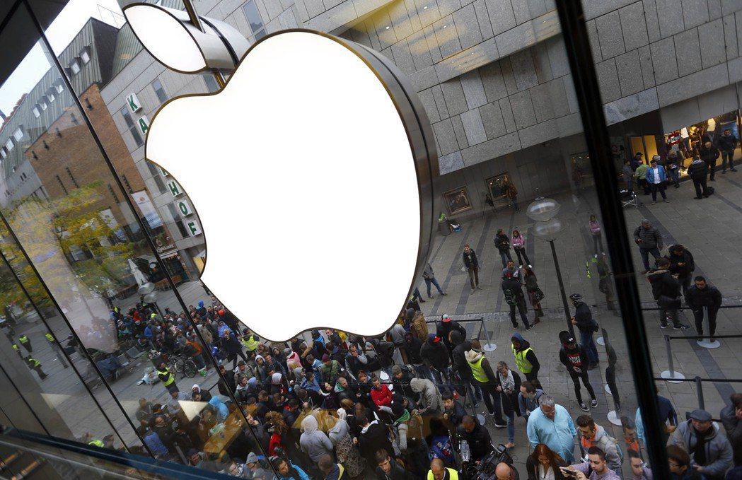 蘋果即將公布財報。圖/美聯社