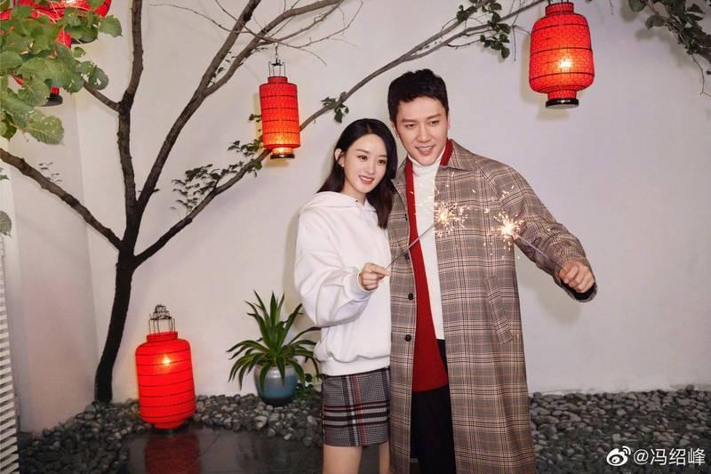 趙麗穎、馮紹峰離婚震驚大陸演藝圈。圖/摘自微博