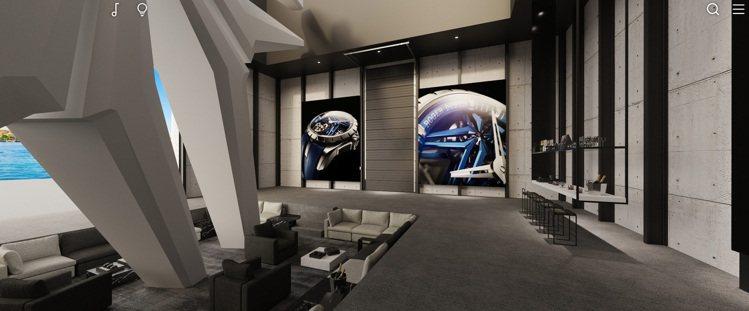 像是參加一個高級招待所或私人VIP俱樂部,Roger Dubuis在鐘表與奇蹟表...