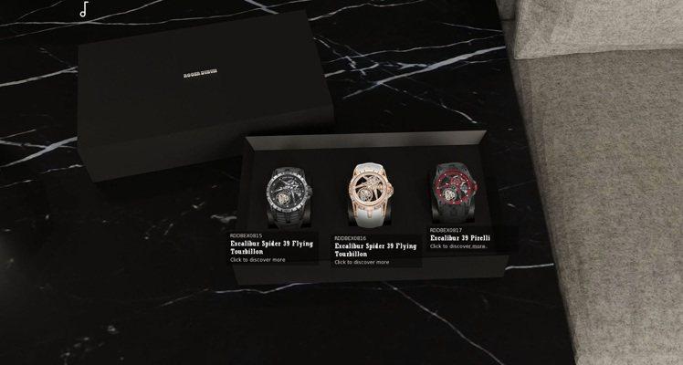點開桌面,甚至陳列有三款今年在線上表展發表的Excalibur Spider 3...