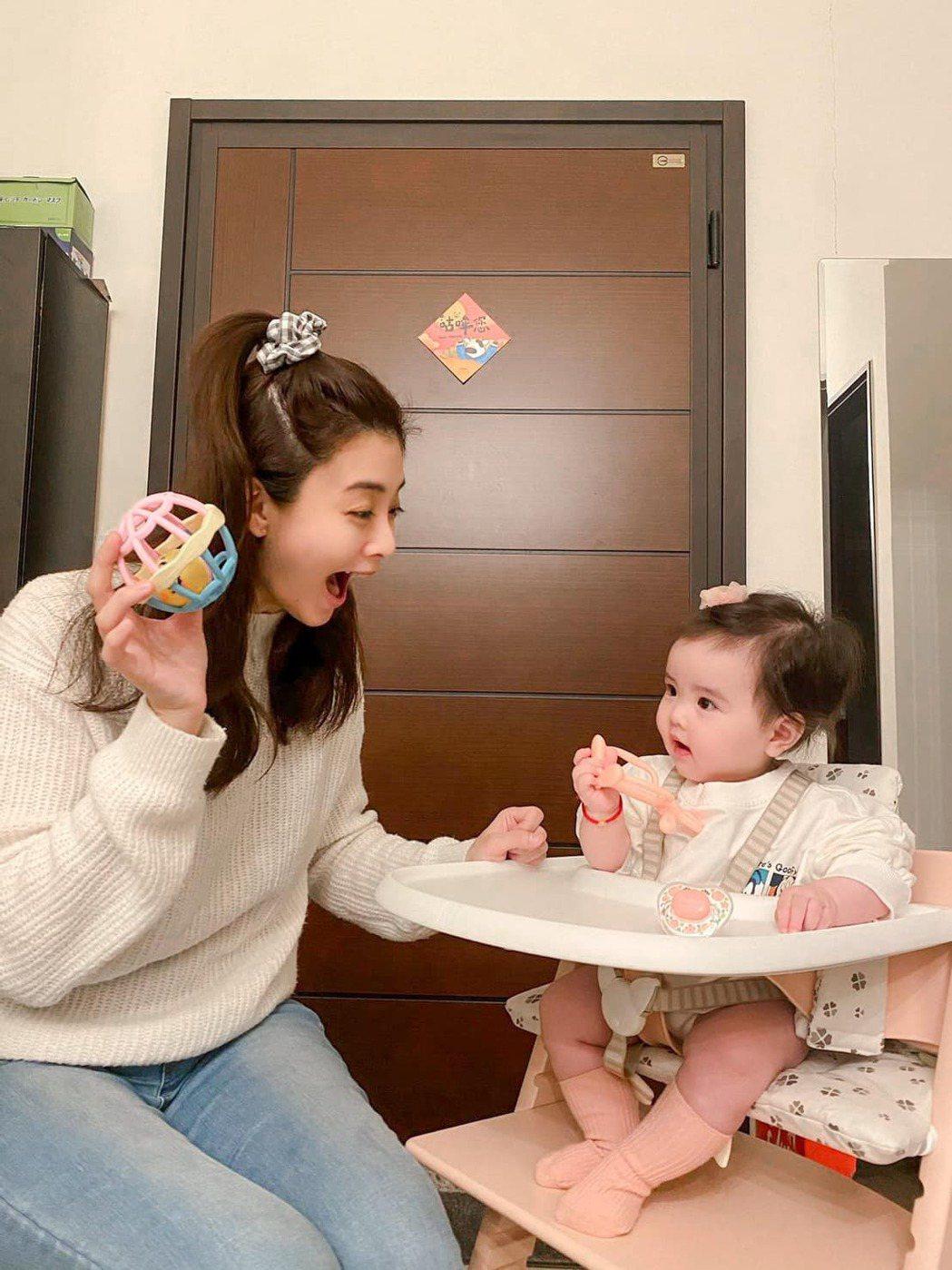 夏如芝當媽後對受暴兒的新聞特別有感。圖/摘自臉書