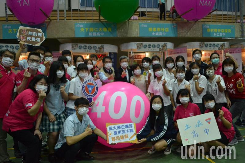 台南市教育局今天舉行全台首學課程博覽會,為放眼天下做準備。記者鄭惠仁/攝影