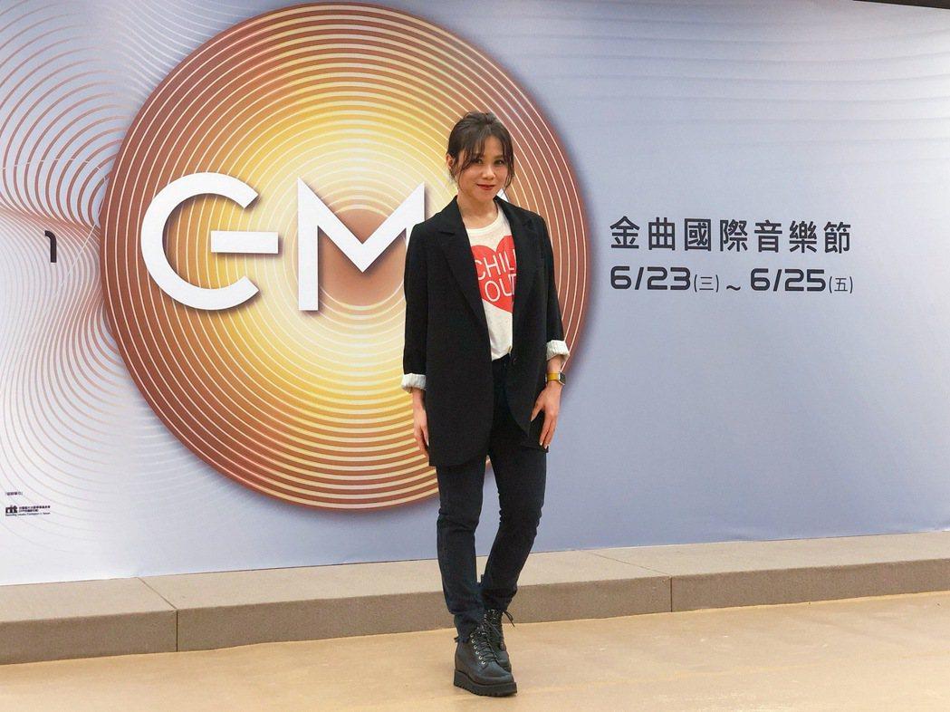 蔡健雅年初剛辦完演唱會,預告下半年將推出新專輯。記者林士傑/攝影