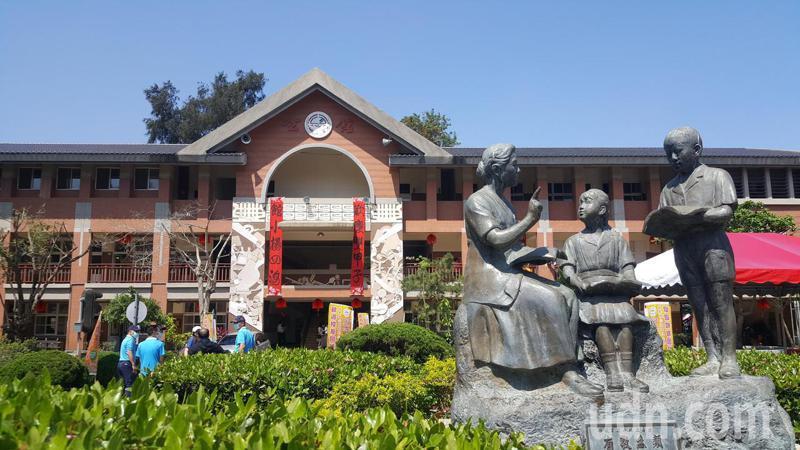 公館國小上午舉辦創校120周年校慶。記者胡蓬生/攝影