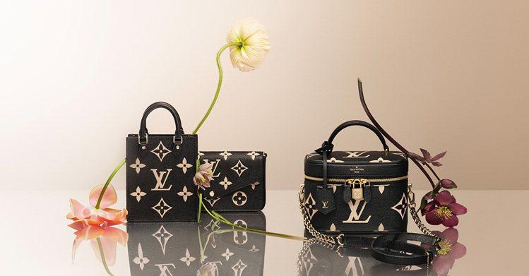 LV(左)Petit Sac Plat手袋61,500元、(中)Félicie ...