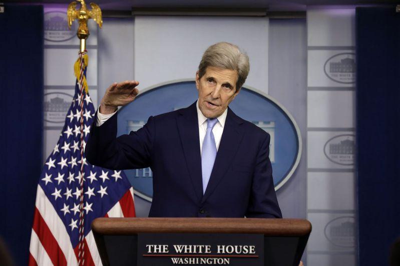 美國總統氣候特使柯瑞。歐新社