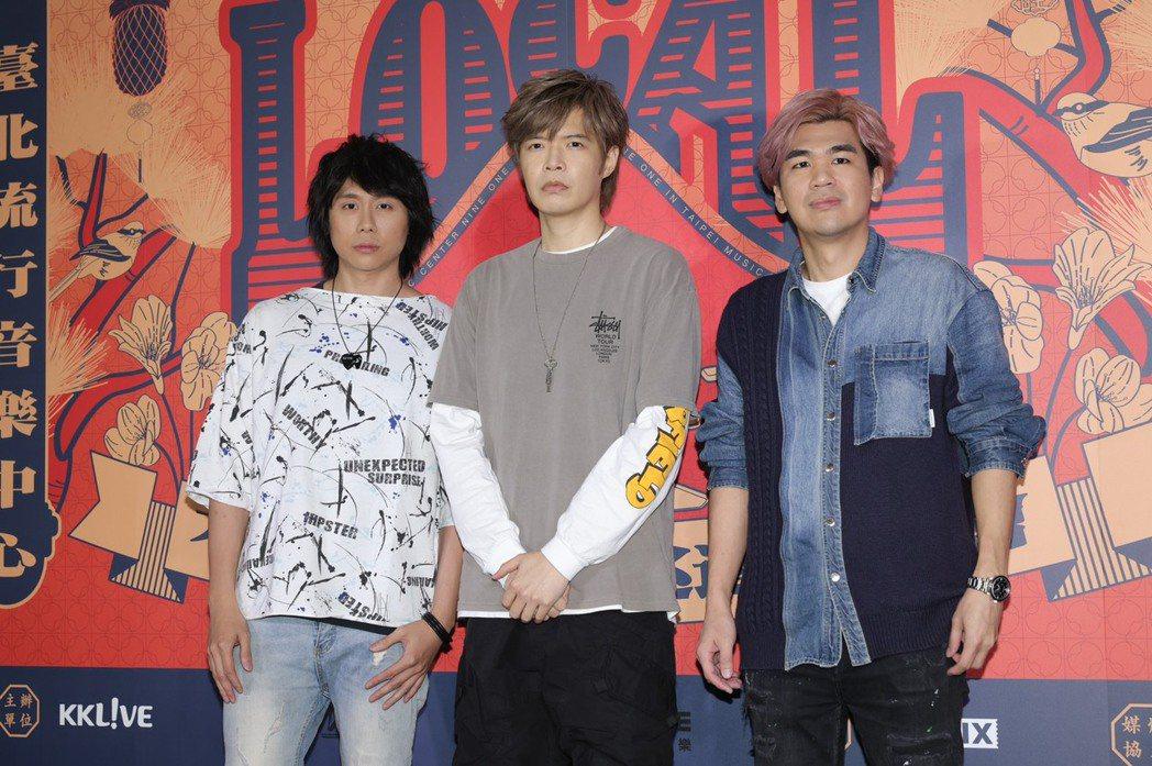 八三夭成員霸天(左起)、阿璞和小橘。記者李政龍/攝影