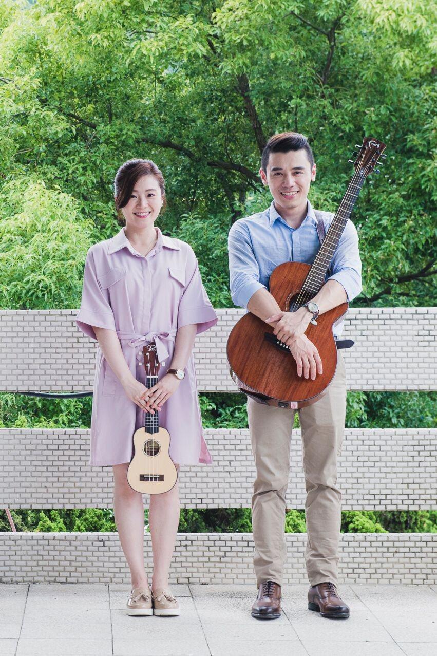 邱志宇(右)與楊小黎在「期末考」有對手戲。圖/海鵬提供