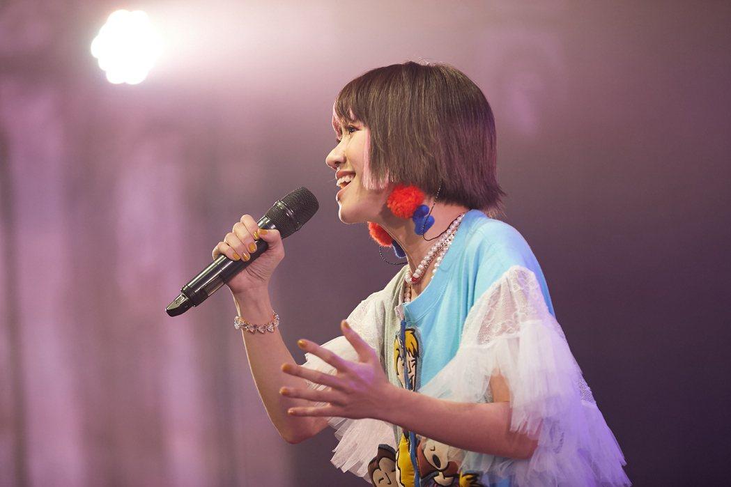 Lulu開唱氣氛從感性到搞笑全都包。圖/寬宏提供