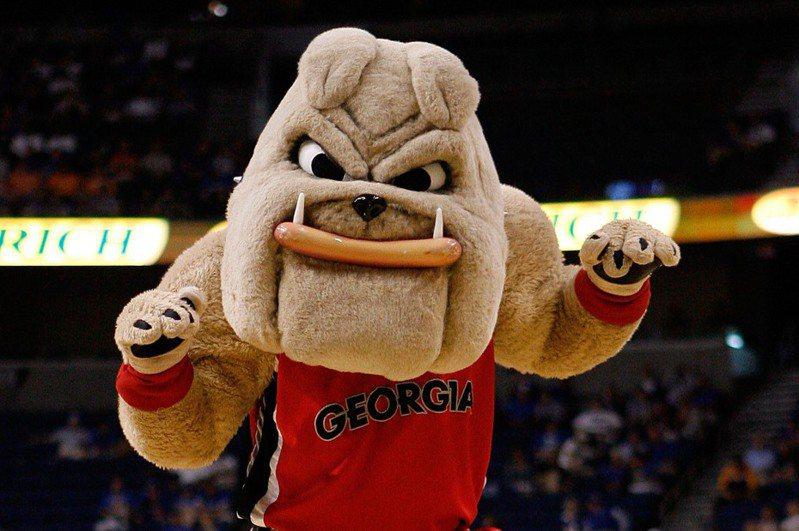 喬治亞大學吉祥物鬥牛犬,被NBA前球星巴克利拿來說是那裡的女人。 法新社
