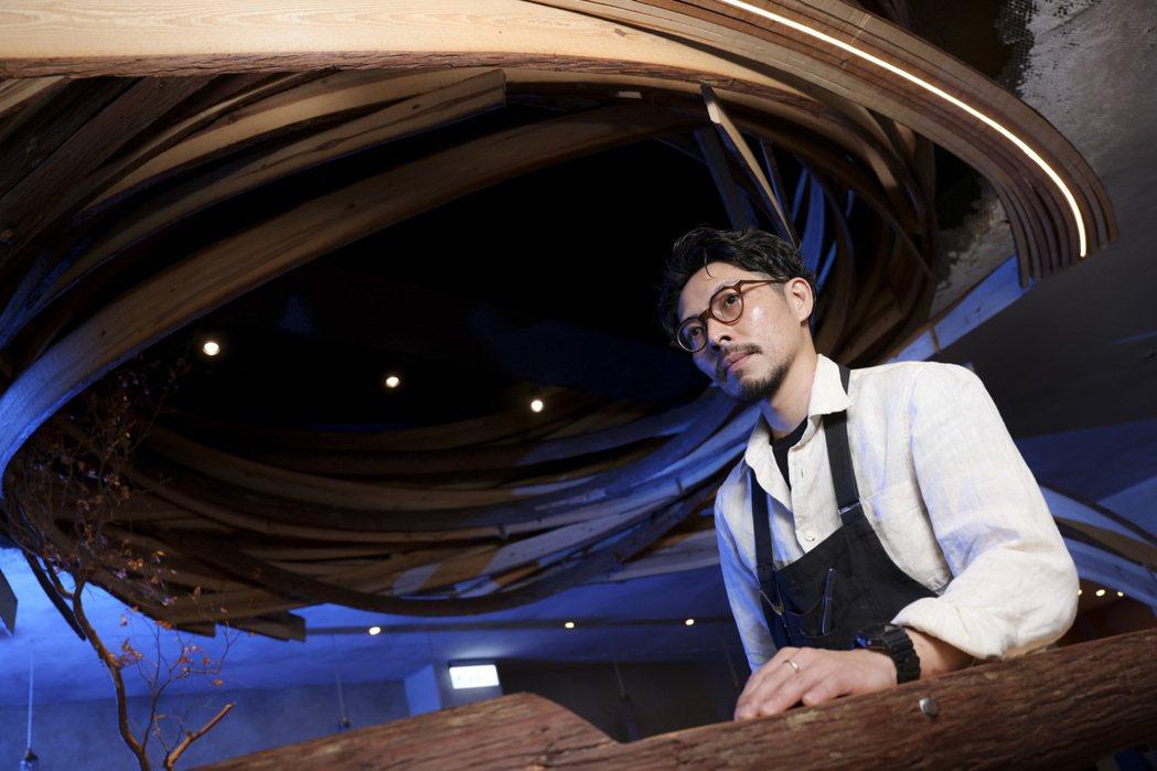 郭庭瑋說「我到了30歲好像才重新活了過來」。 圖/王聰賢攝影