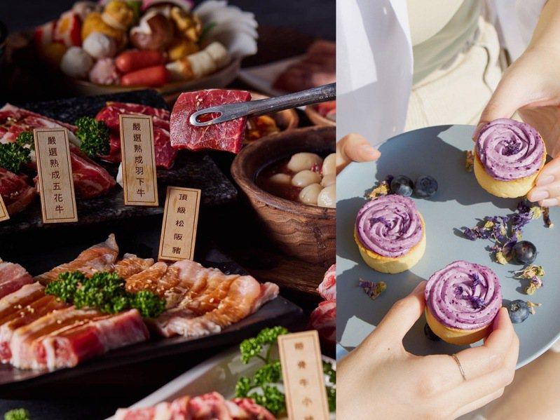 百貨母親節檔期,透過引進全新美食品牌、推出快閃美食集客。圖/業者提供