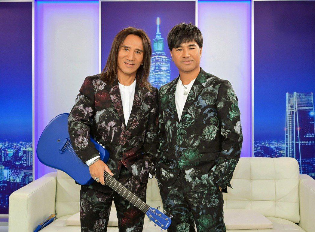 顏志琳和尤秋興苦熬成名。圖/台視提供