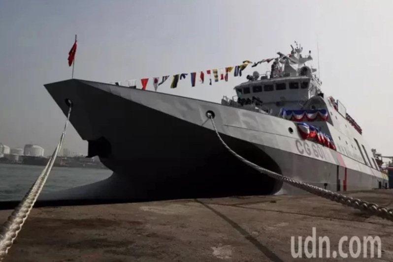 海巡署新成軍600噸安平級巡防艦(巡邏艦),一度傳將在今年漢光37號演習兵操演中實施雄二反艦飛彈實彈射擊。圖/本報資料照