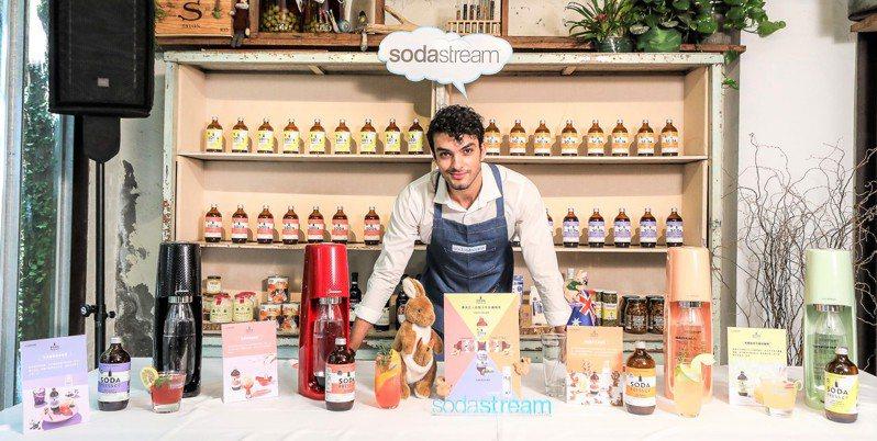 sodastream旗下澳洲有機糖漿品牌Soda Press全新上市,推出4款獨特風味、天然無負擔有機糖漿。圖/恆隆行提供