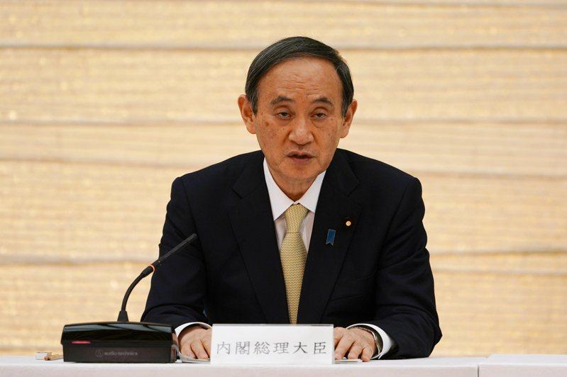 日本首相菅義偉。歐新社