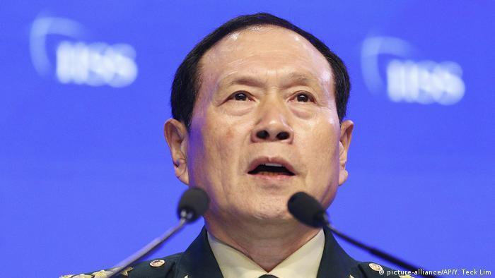 中國國防部長魏鳳和。 圖/德國之聲提供