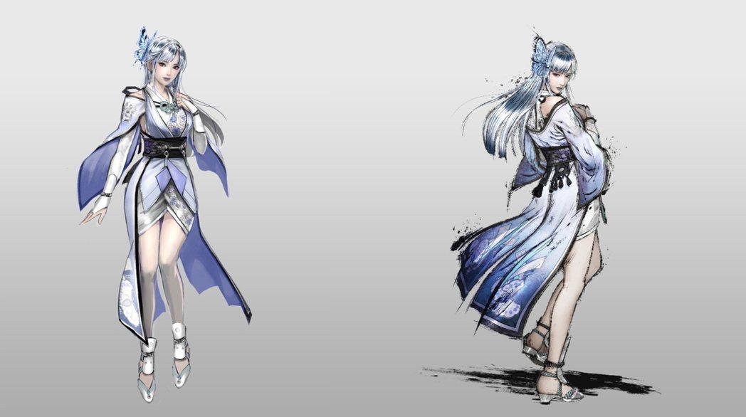 濃姬特製服裝「雪女」