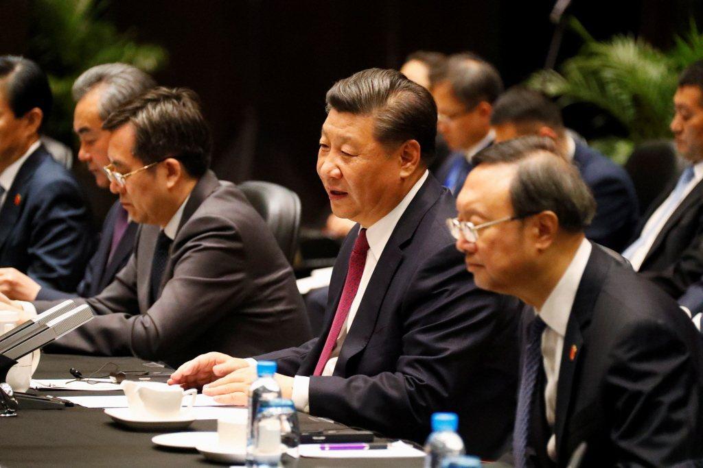 當中國外交系統不惜持續與國際翻臉也要維護「安內攘外」的「大內宣」,可見中國國內維穩需求已經遠大於在國際留顏面。攝於2018年。 圖/路透社