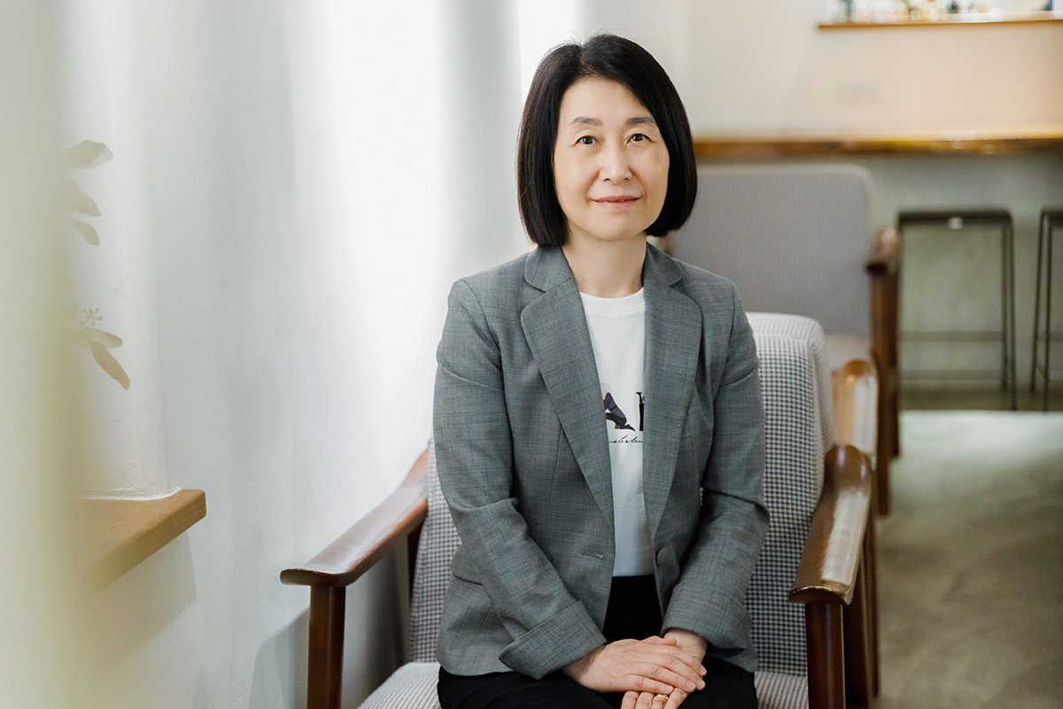 臺北醫學大學高齡營養中心主任 楊素卿教授。 攝影/陳軍杉