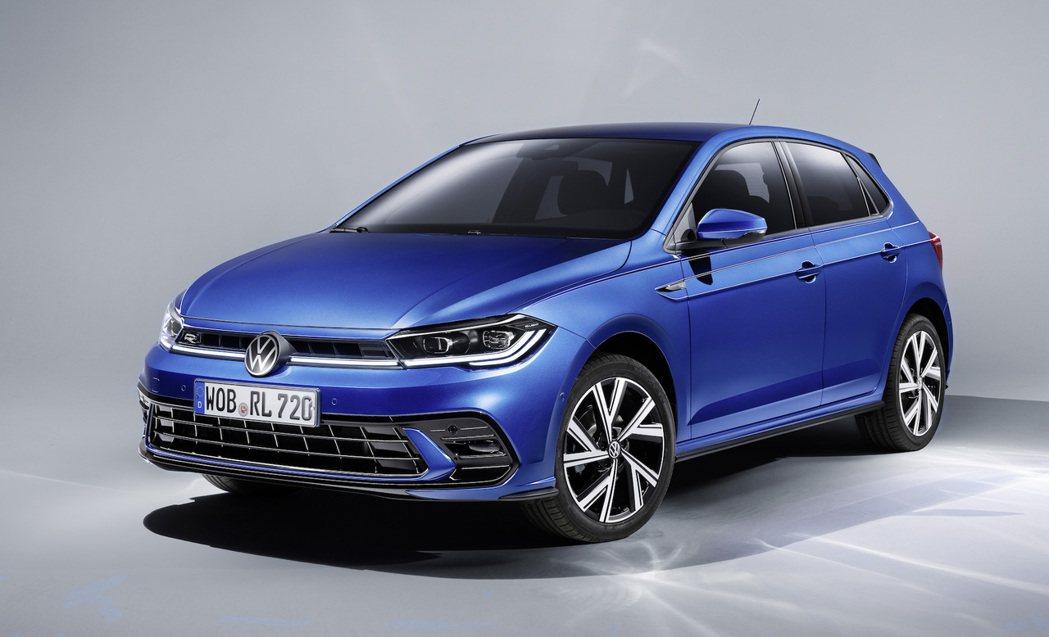 小改款Polo在車頭換上了全新的頭燈與保險桿造型。 圖/Volkswagen提供