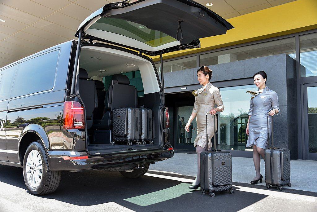 福斯商旅T6.1 Multivan 另有7人座椅配置(短軸2-2-3),Mult...