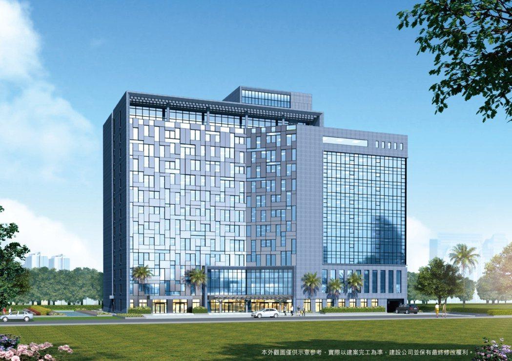 「憶聲智匯科技園區」完工後將是工業區中最高、最具國際門面的的地標建築。 業者/提...