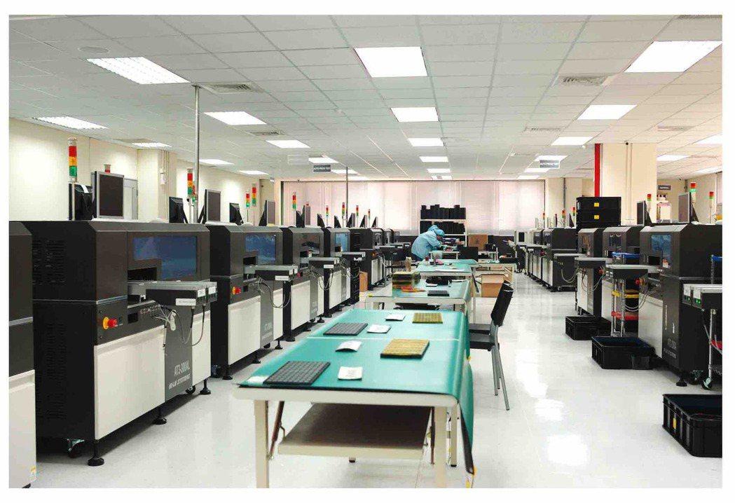 全球最廣智能燒錄代工廠。 河洛半導體/提供