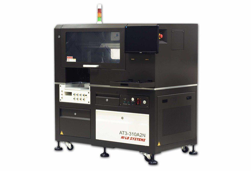 AT3-310A2N全自動燒錄系統。 河洛半導體/提供