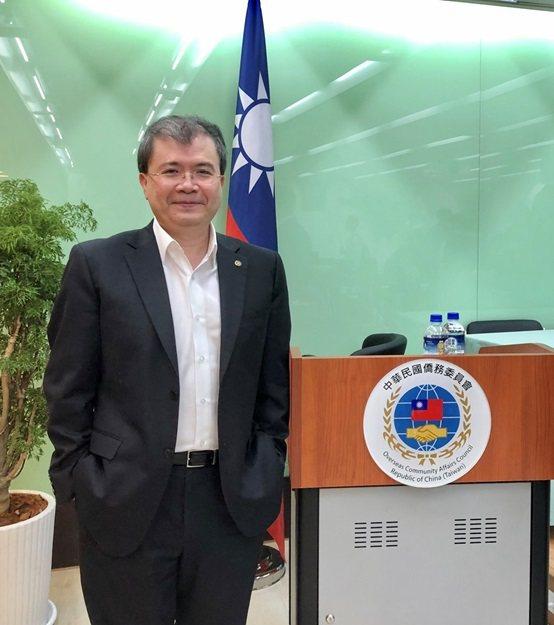 張智強博士受邀至僑務委員會演講、分享在新南向國家的經驗。 皇輝科技/提供