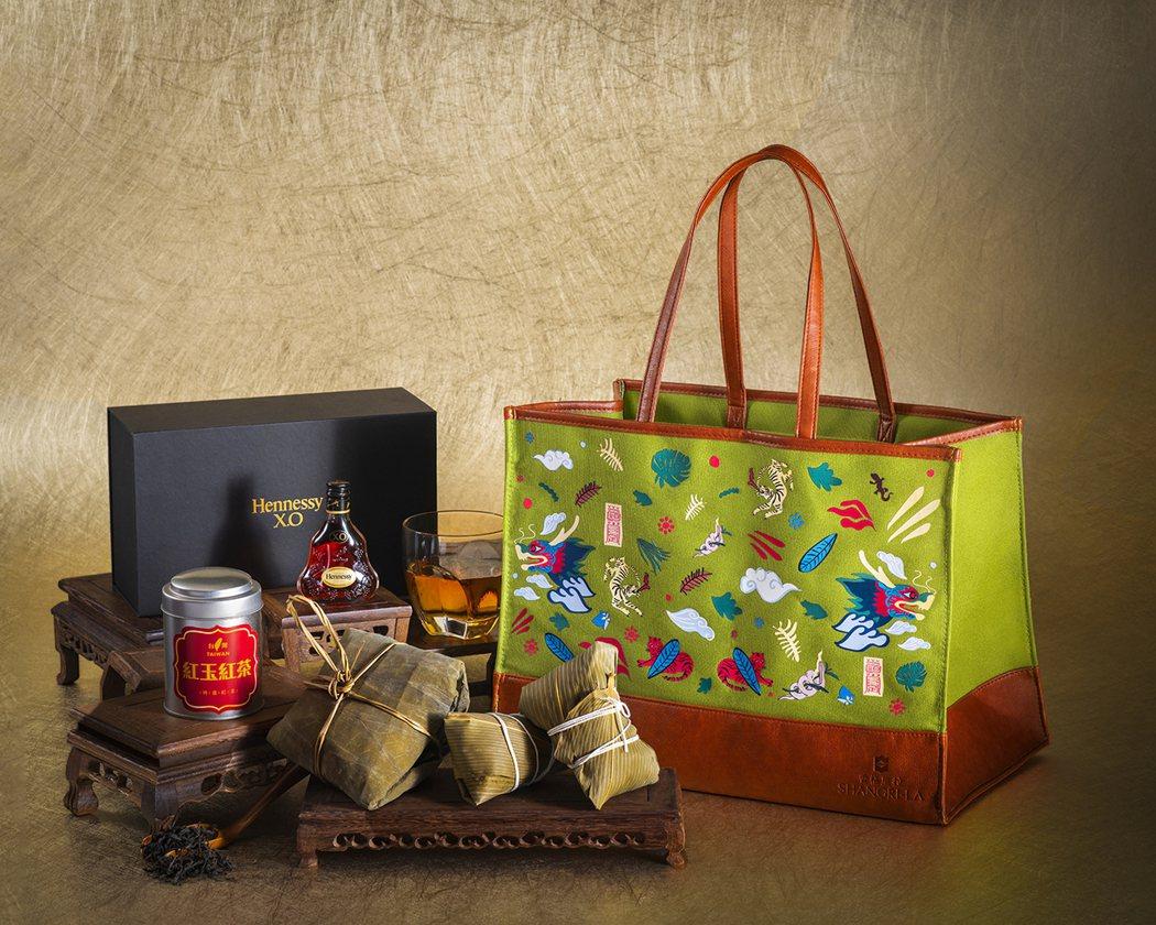 香格里拉台北遠東國際大飯店香傳極品禮袋。 業者/提供