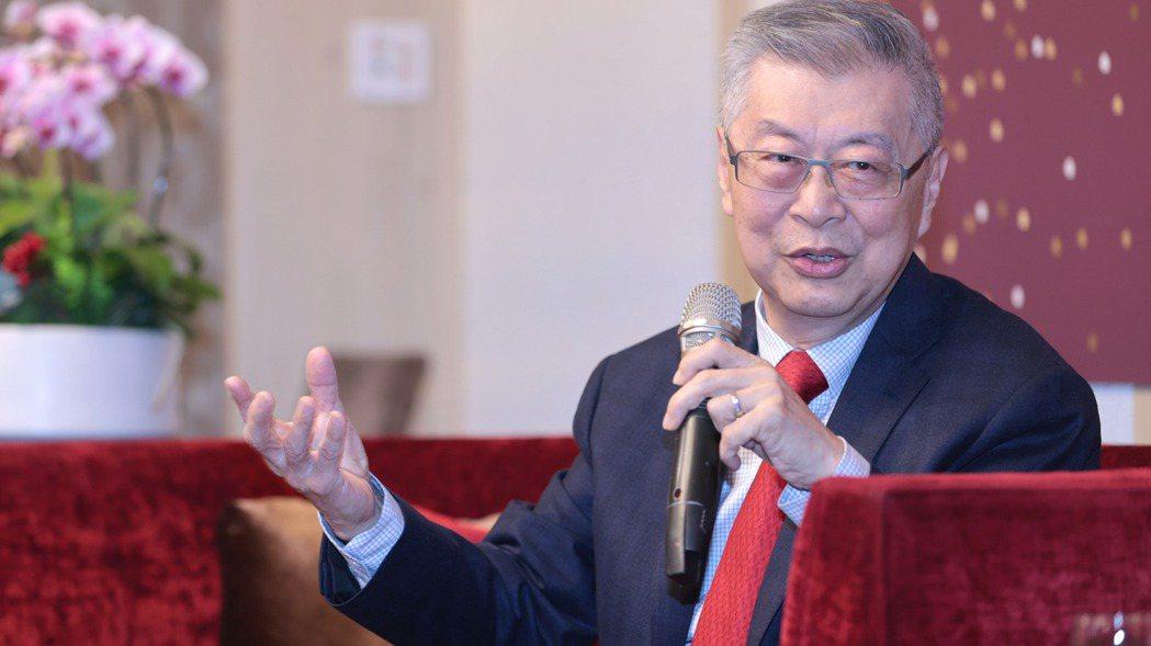 前行政院院長陳冲。記者蘇健忠/攝影