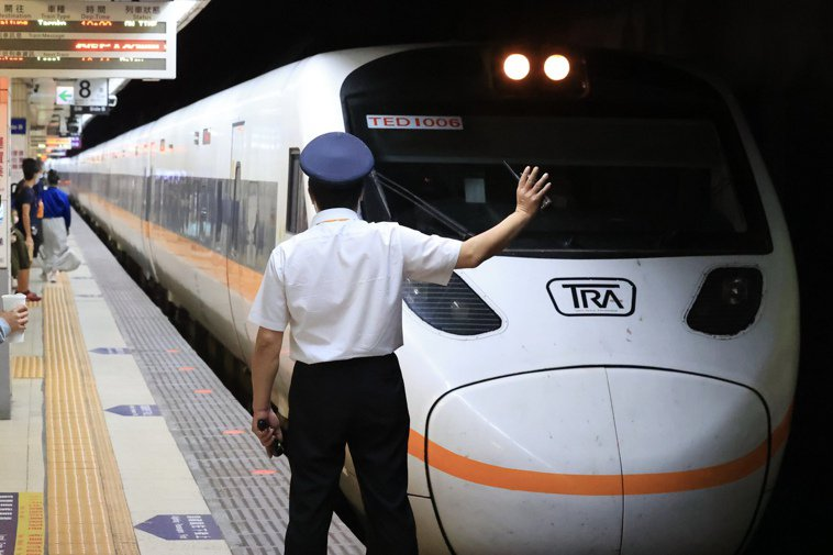 台鐵。記者林伯東/攝影