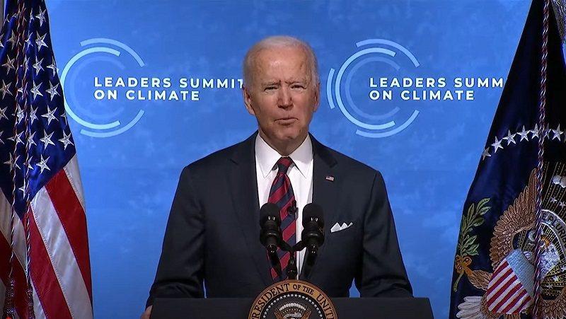 美國總統拜登上周宣布一項目標,要在2030年前將碳排量降至比2005年排放量少5...