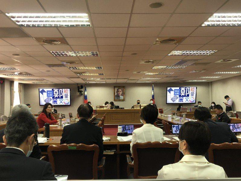 立法院司法及法制委員會今天針對國務機要費除罪化進行專題報告。記者李承穎/攝影