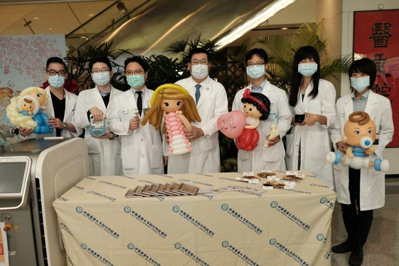 母親節即將到來,中國醫藥大學新竹附設醫院將在5月3日舉辦珍愛母親節健康園遊會,提供數種免費健康檢測服務。記者陳斯穎/攝影