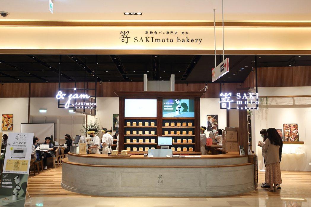 嵜本板橋大遠百店將於4月28日正式開幕。記者陳睿中/攝影