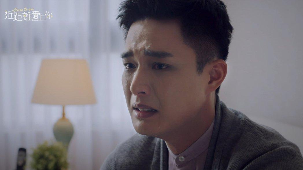 安俊朋在劇中向父親坦承性向出櫃,聽到父親的真心話感動到淚流滿面。圖/LINE T...