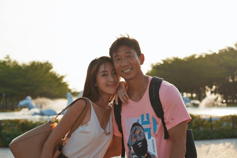 隋棠和老公Tony十分恩愛。圖/摘自臉書