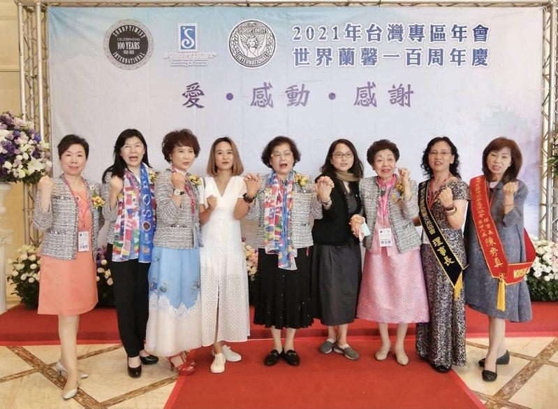 「2021年台灣專區年會」以「愛、感動、感謝」為主題,揭開序幕。記者宋健生/攝影