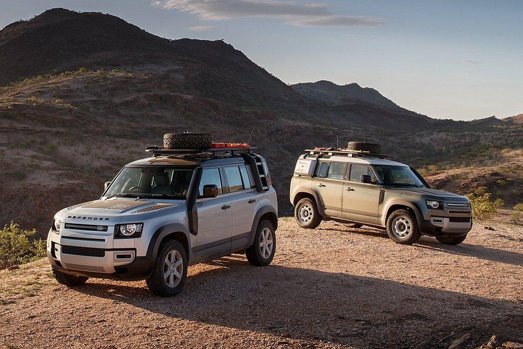 Land Rover Defender全方位的性能表現提高了越野安全性和道路舒適...