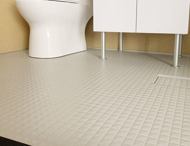 整體浴室無拼接縫隙,幾乎100%防水,不需要再做防水。 圖/一太e衛浴 提供