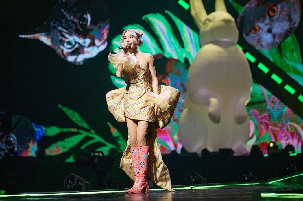 蔡依林以「Ugly Beauty」巡演再破個人紀錄。圖/凌時差提供
