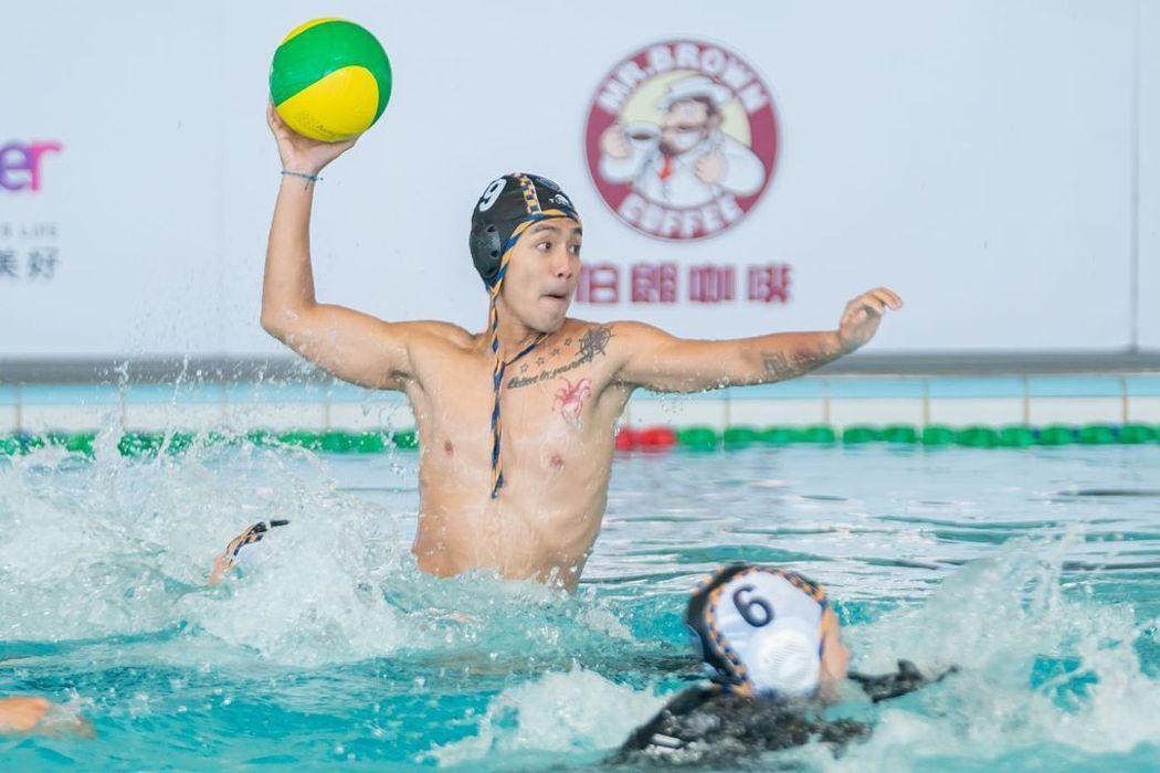 「全明星運動會」第二季日前播出水球競賽。圖/擷自IG