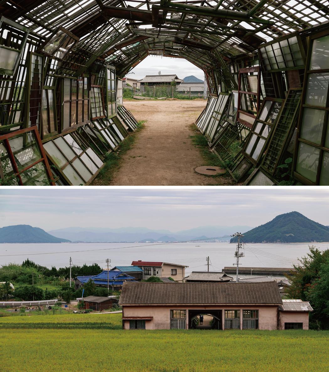 2016年瀨戶內國際藝術祭豊島甲生村《遙遠的記憶》作品現場。 圖/許翼翔拍攝提供