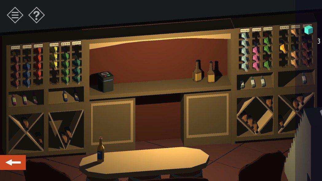 光一個酒窖就藏了2~3種解謎的線索